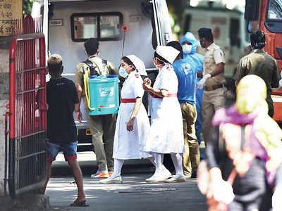 Five more Mumbai nurses test positive