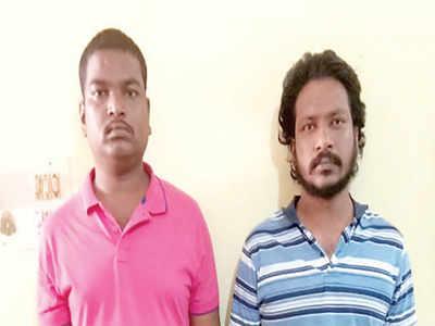 Two held for killing transgender