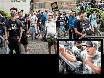 44 'rioters' charged, Hong Kong on edge