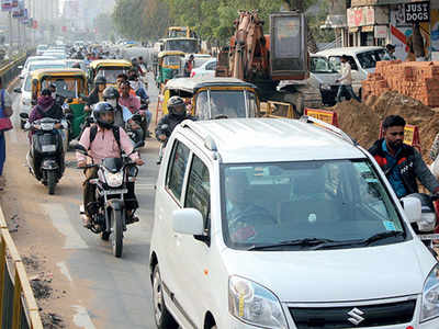 It's chaos at Nehrunagar