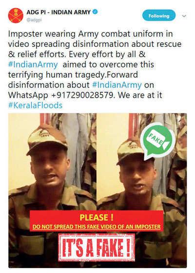 Army warning
