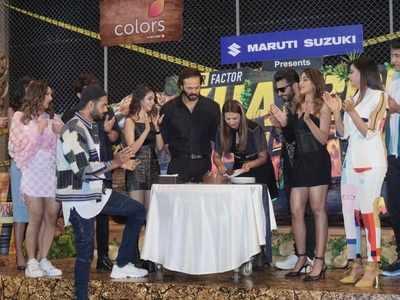 Khatron Ke Khiladi 11 launch highlights: Rohit Shetty, Shweta Tiwari, Divyanka Tripathi and others cut cake; show to premiere on July 17