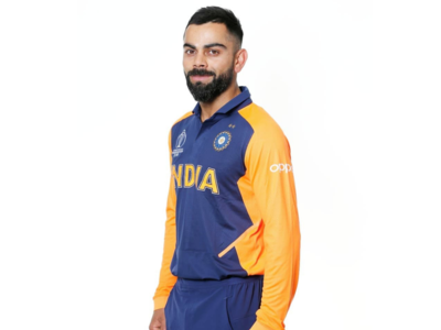 Virat Kohli, MS Dhoni and other Indian cricketers sport new orange jersey, see pics