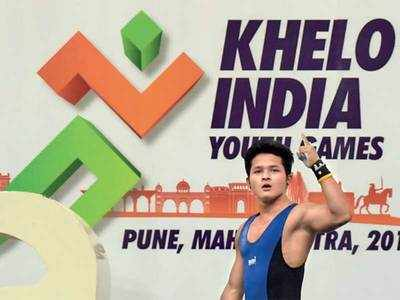 Mizoram lifters hog limelight at Khelo India Youth Games