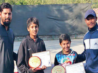 Infocity Open Tennis Tournament: Vraj Gohil wins U-14 crown