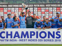 Clinical India beat abysmal Windies in fifth ODI, win series 3-1