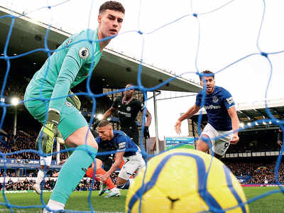 Everton beat Chelsea 3-1 at Goodison Park