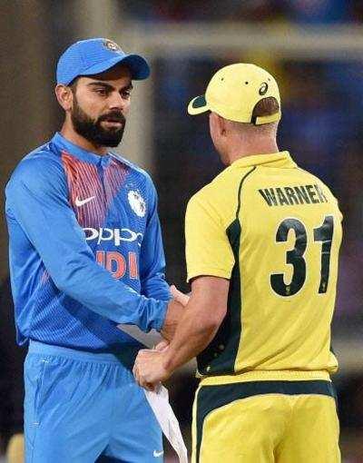 India vs Australia Live Score: India vs Australia 2nd T20I Live Cricket Score and Updates from Guwahati