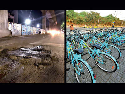 PMC's cycle sharing plan on hold