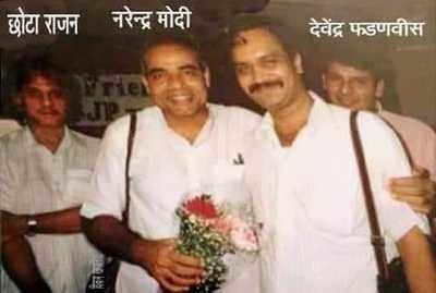 Fake alert: Doctored image of PM Modi with Chhota Rajan viral
