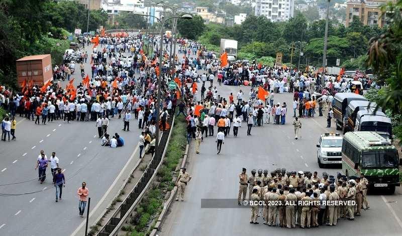 Maratha Morcha: Mumbai was peaceful; violence in Pune