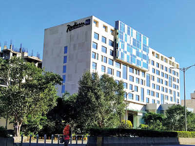 Radisson Blu is not a 'haunted' site