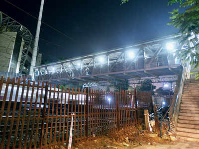 FOBs connecting Churchgate station to Wankhede Stadium to be dismantled in May after IPL 2020