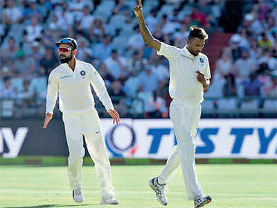 Do you think India can win its fi rst ever Test series in South Africa?