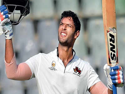 Ranji Trophy: Shivam Dubey's century rescues Mumbai against Gujarat