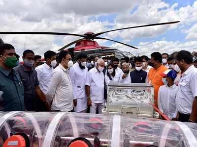 Karnataka CM launches first integrated air ambulance service