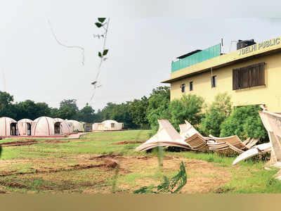 Nithyananda Ashram demolition begins