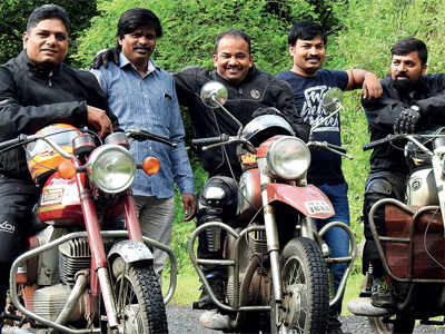 Pune bikers get ready to ride vintage motorcycles in India's toughest rally