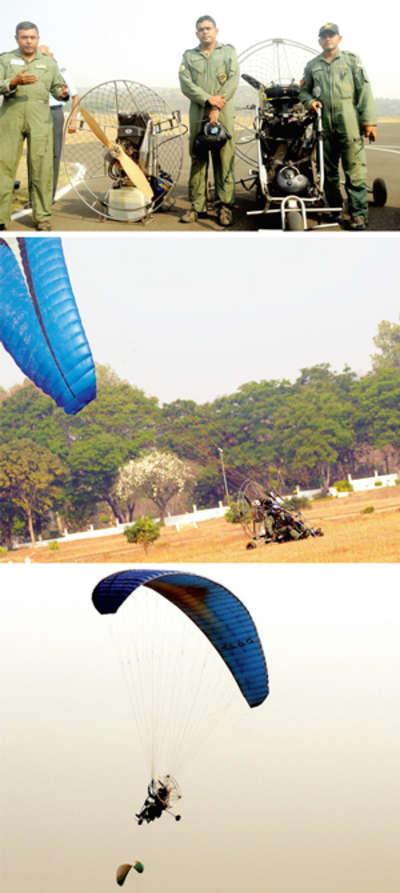 IAF men flying high in memory of the country's martyrs
