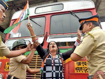 Bharat Bandh: Raj Thackeray's MNS fuels Congress' protest in Mumbai