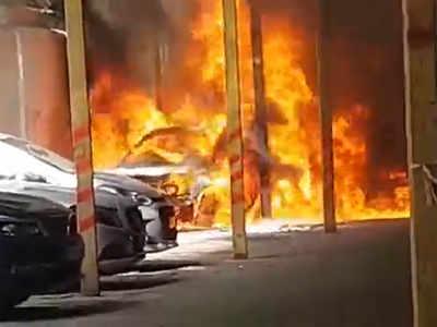 Defective electric circuit caused Usha Kiran fire