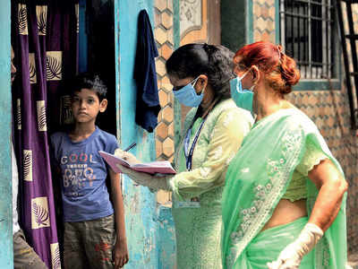 BMC starts cluster screening at slums