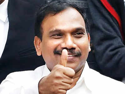 EC bars DMK's Raja from campaigning for 48 hours