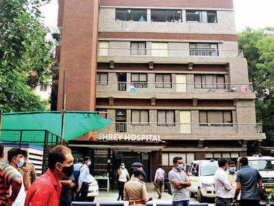Nearly 48 hours later, no one is responsible for fire at Shrey Hospital