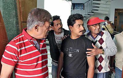 Bhagavan's 50th film carries friend Dorairaj