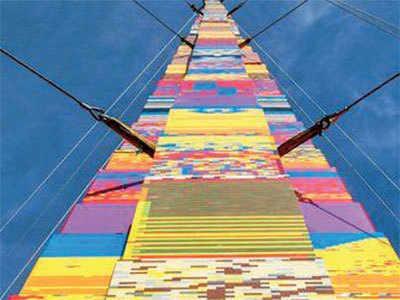 Tall tribute 118 Feet