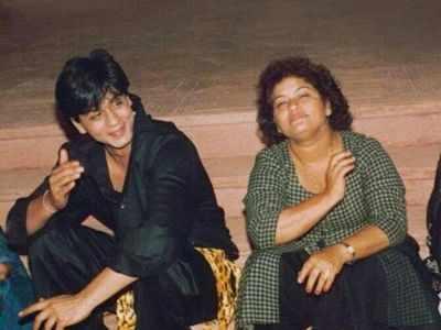 Shah Rukh Khan: Saroj Khan was my first genuine teacher in the film industry