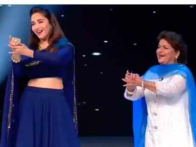 As Devdas clocks 18 years, Madhuri Dixit looks back at shooting Maar Daala with Saroj Khan