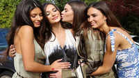 Amy Jackson shares unseen pictures from her engagement party