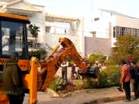 Chandigarh: Municipal corporation kicks off anti-encroachment drive in Sector 19