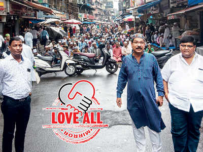LOVE ALL: Quiet Ganpati procession, veg iftaar: Pydhonie sets an example for Mumbai