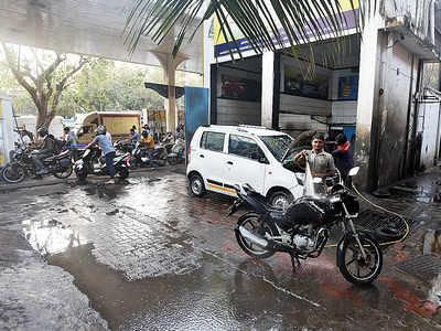 Petrol pumps can no longer offer wasteful car washes