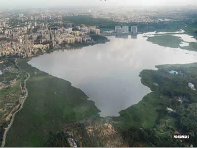 Sewage diversion channel in Bellandur Lake does little to stem the flow