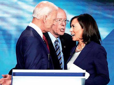 Biden fights off rivals in US Democratic debate