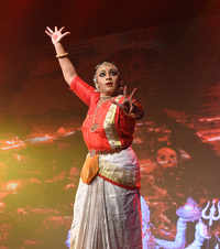 Gayathri Govind performs as Aadiparasakthi
