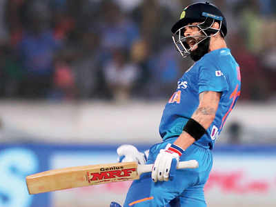 India vs West Indies: Virat Kohli channels aggression to smash 94 runs off 50 balls