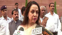 Hema Malini's solution to keep monkeys away samosa and frooti