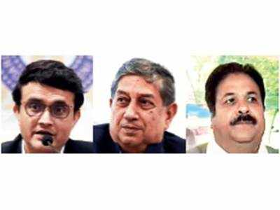 AGM proposes changes which will benefit Sourav Ganguly, N Srinivasan, Rajeev Shukla
