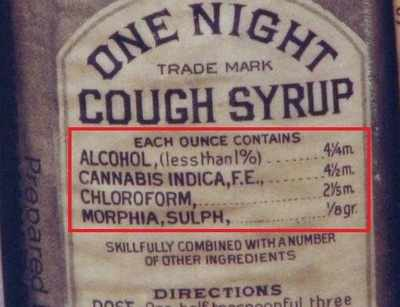 When cocaine, chloroform and heroin were used as common medicinal remedies