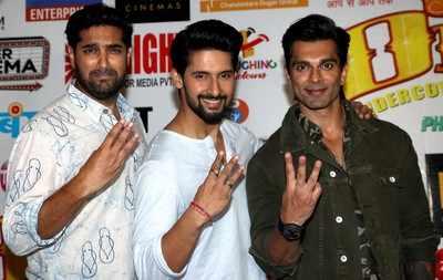 Karan Singh Grover, Kunaal Roy Kapur, Ravi Dubey talk about their film 3 Dev, jokes about competitor movie Sonam Kapoor, Kareena Kapoor Khan's Veere Di Wedding
