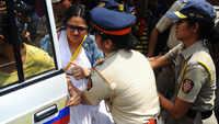 Aarey protest: Akhilesh Yadav slams NDA govt
