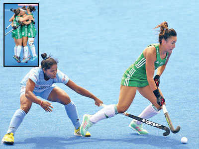 India go down 0-1 to Ireland in Women's Hockey World Cup in London