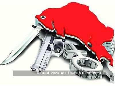 Former IPS officer's son files complaint against goons