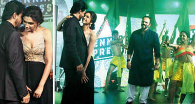Dippy, SRK whistle off music express