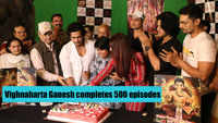 Vighnaharta Ganesh completes 500 episodes, cast celebrates with Ganpati Pooja