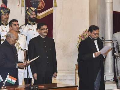 Justice Sharad Arvind Bobde takes oath as 47th CJI, succeeds Justice Ranjan Gogoi
